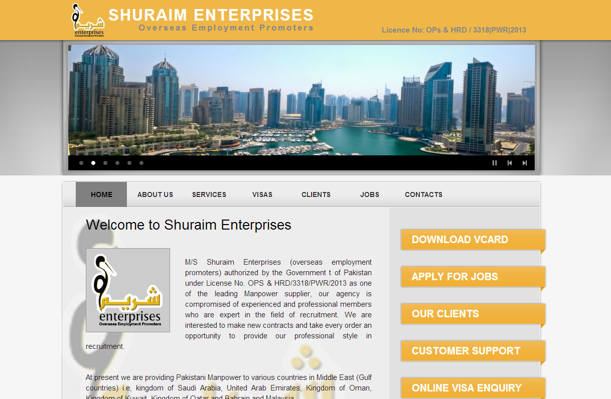 Shuraim Enterprises Overseas Empolyement Promoters